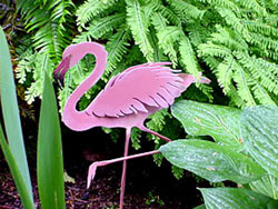 "Are your gardening friends the ""pink flamingo"" types? Or would they prefer a more serious gift, such as some top-of-the-line pruners?"