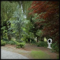 Location of sphere in the gardens