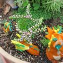 Garden Art Creations: Polymer Clay in the Garden