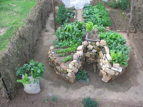 Permaculture forum: Keyhole Bed Design In Small Scale ...