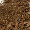Adding Screened Pine Bark Mulch