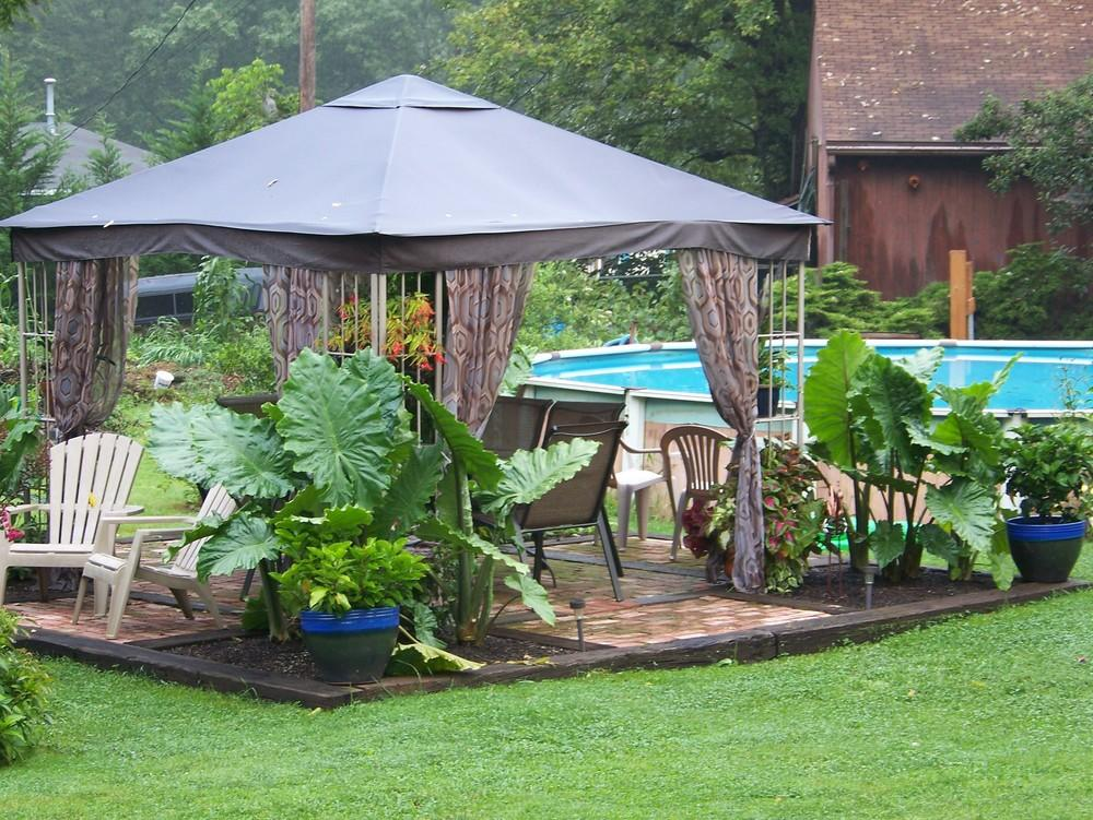 Garden Rooms forum Metal Gazebo Question Gardenorg