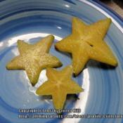 Location: Critter's kitchenDate: 2013-03-25star-shaped cross sections of fruit