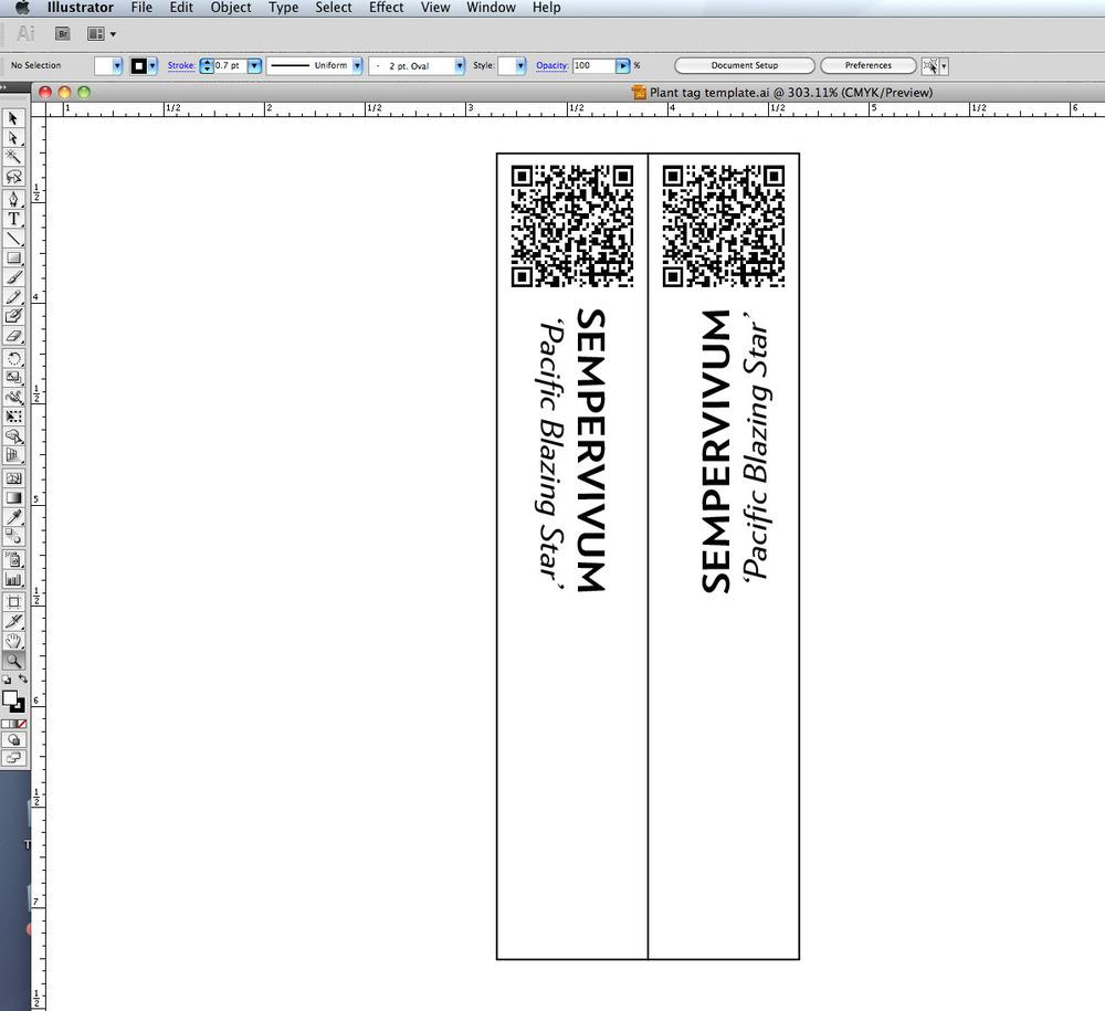 how to make database plant tags garden org