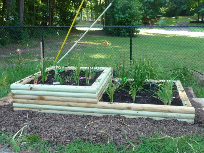 Build A Flower Bed With Landscape Timbers Mycoffeepot Org