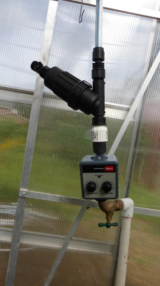 Greenhouse Misting System Kits : Greenhouses forum automatic valves for misting systems