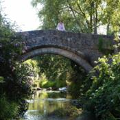 Location: Bow Bridge, a packhorse bridge over the River Brue in Bruton, Somerset, July 2006Date: 2007-06-22Photo courtesy of: Peter Guest