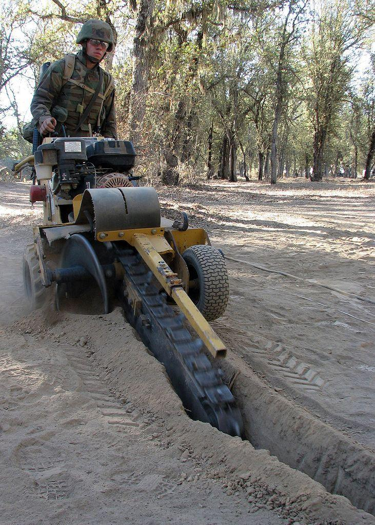 No more trenching tool for nearly painless irrigation
