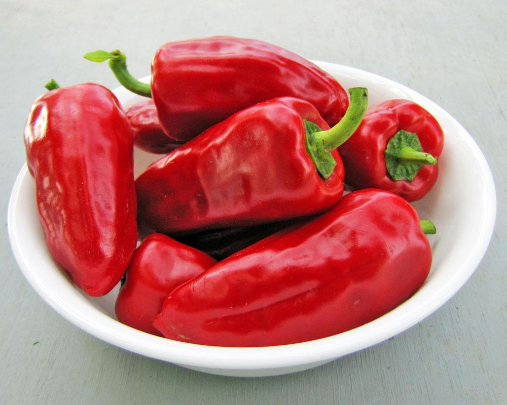 Photo of Pepper (Capsicum annuum 'Sweet Heat') uploaded by TBGDN