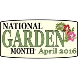 April is National Garden Month