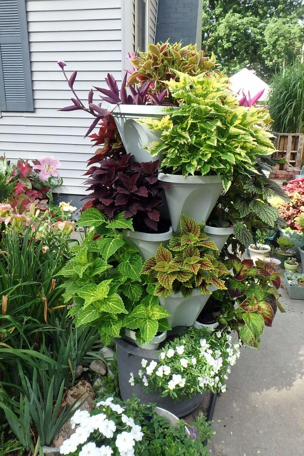 garden decks container magazine touch bay these designer planters containers patios s character to add gardening are made and the on a