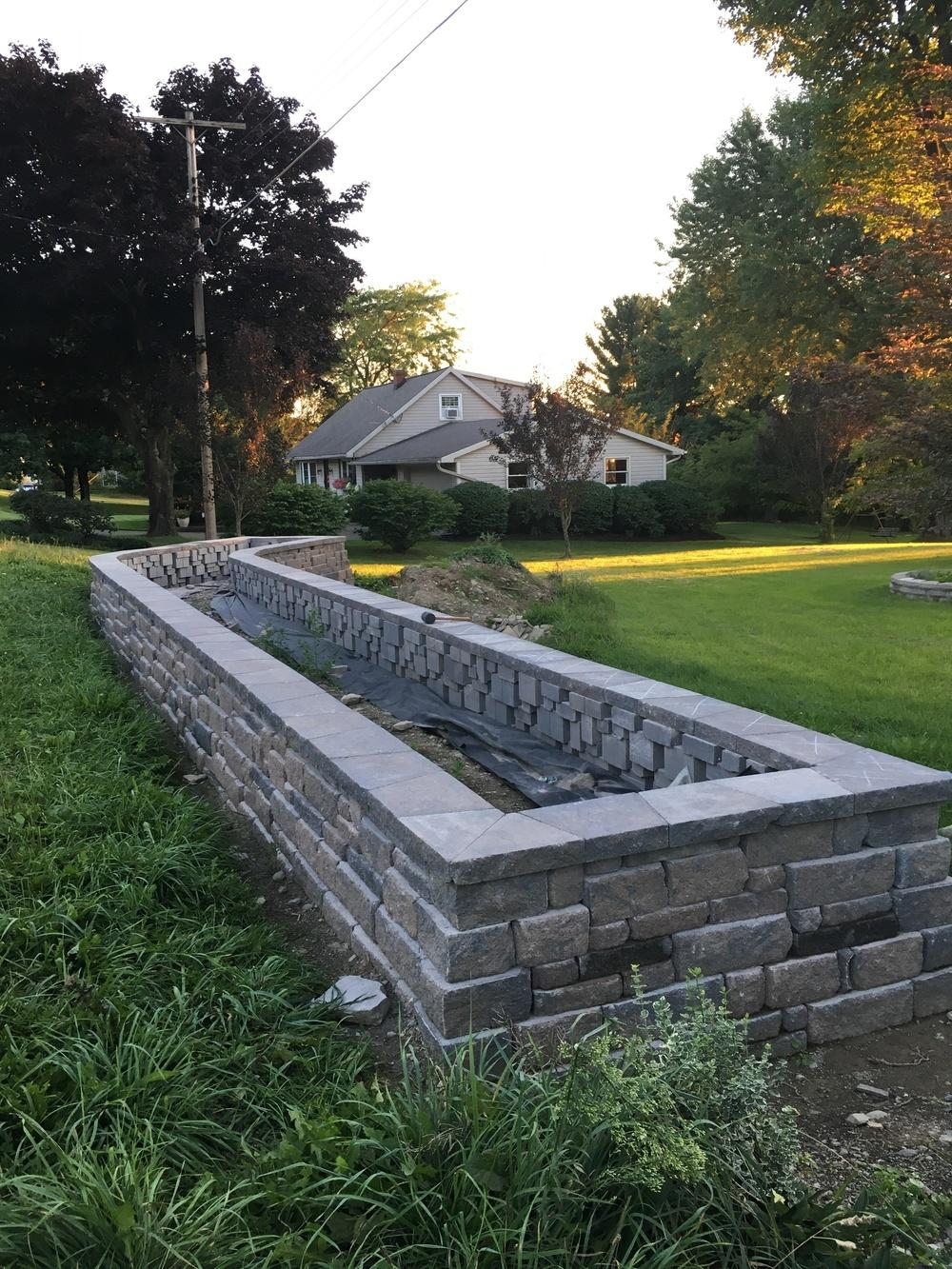 Landscape Design Forum: Raised Flowerbed Is Done, Help Me