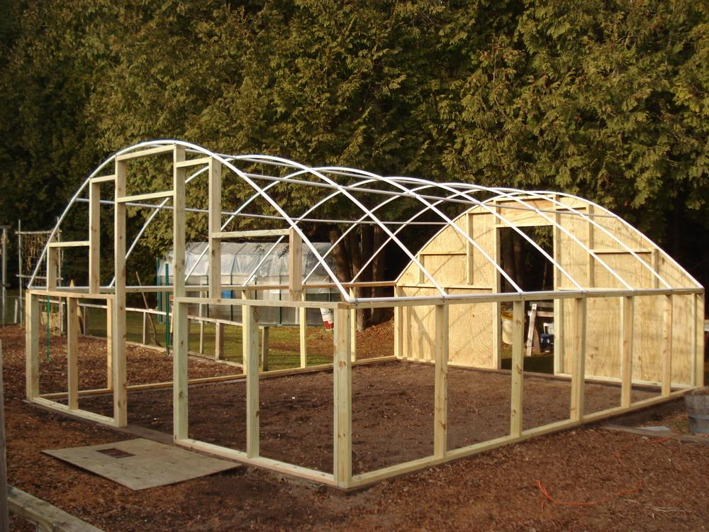 Greenhouses forum: PVC frame for a greenhouse - Garden.org