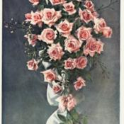 Date: c. 1910photo is frontispiece to Felton's 'British Floral Decoration', 19