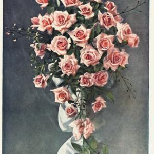photo is frontispiece to Felton's 'British Floral Decoration', 19
