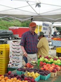 Adolph has taught me about grapes and lots more at my local farmers' market.